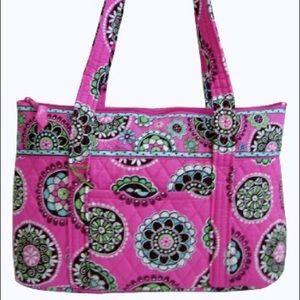 Vera Bradley Little Betsy Bag in Cupcake Pink